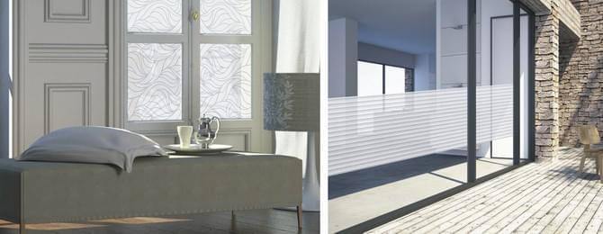 Zelfklevend glasfolie voor meer privacy plakfolie webshop for Plakplastic raam